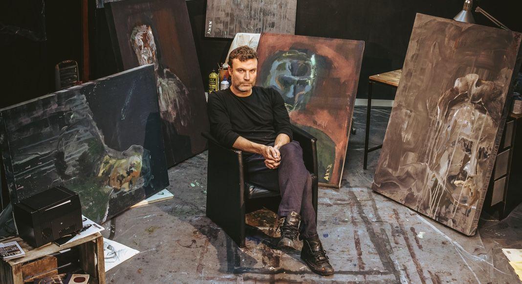 El hombre y el lienzo