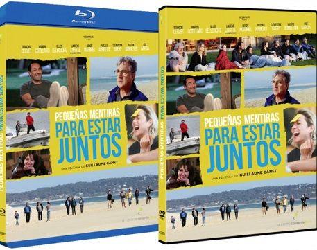 Pequeñas mentiras para estar juntos en DVD