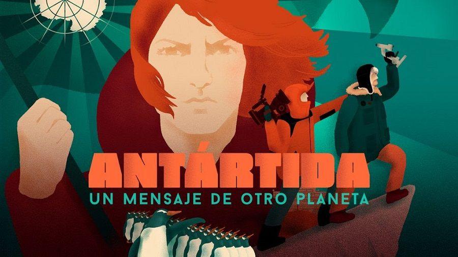 Antártida un mensaje de otro planeta
