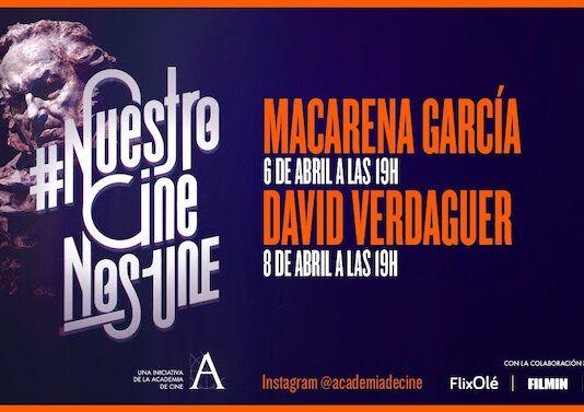 Macarena García y David Verdaguer
