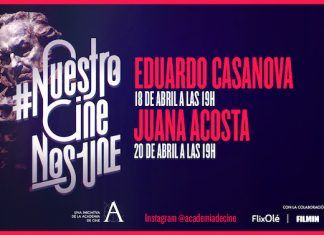 Eduardo Casanova y Juana Acosta