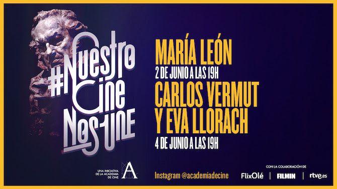 María León, Carlos Vermut y Eva Llorach