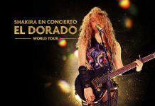 Shakira en concierto El Dorado World Tour