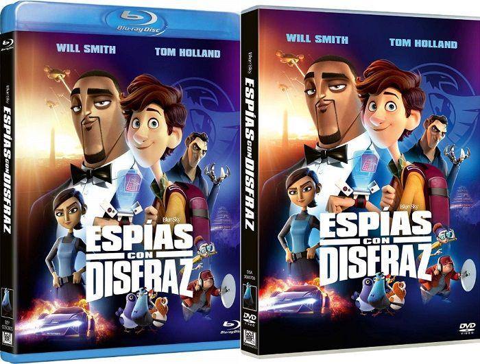 Espías con Disfraz en DVD