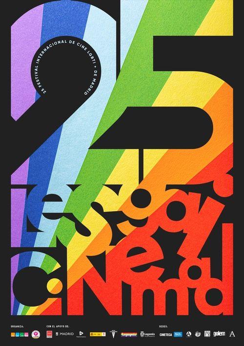 25 aniversario LesGaiCineMad poster