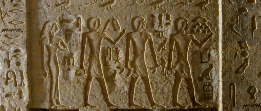 Los Secretos de la tumba de Saqqara portada