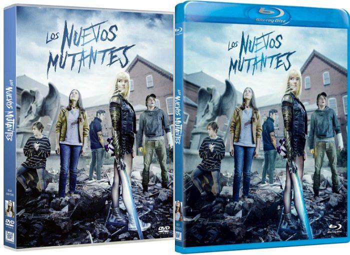 Los Nuevos Mutantes en DVD y BLU-RAY