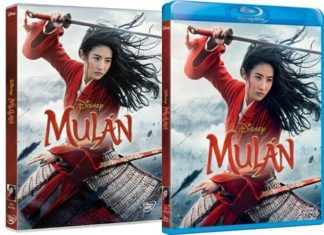 Mulán en DVD y BLU-RAY