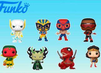 novedades en funko pop de marvel y dc comics en 2021