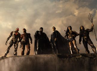 La liga de la justicia de Zack Snyder portada