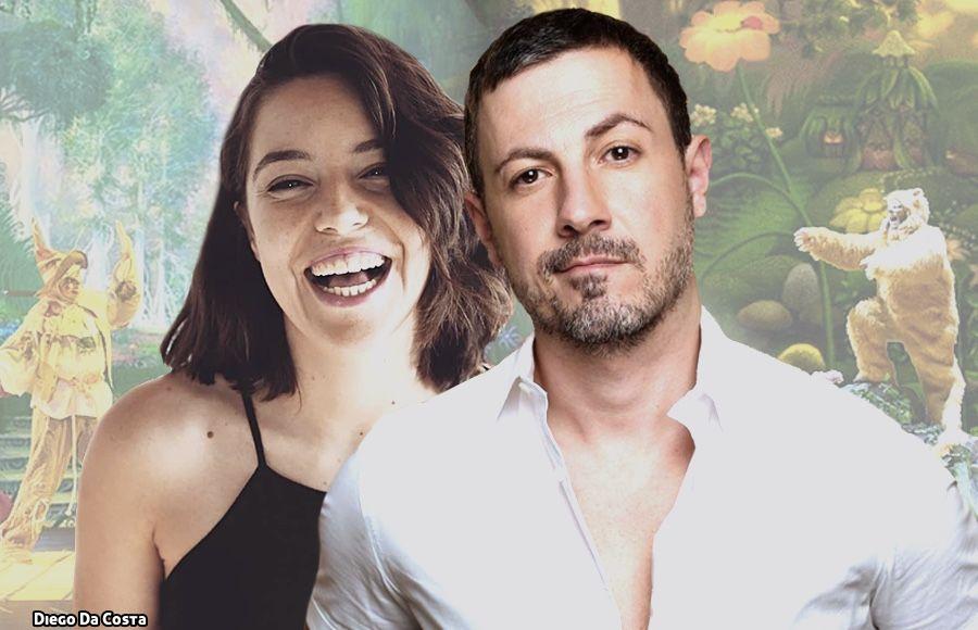 Laura Muriel y Daniel Busquier