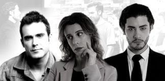 Naím Thomas, Zoraida Ballesteros y Fran Abellán