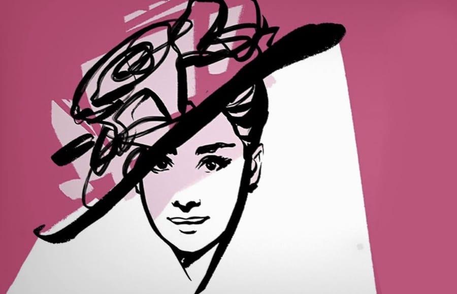 La sombra de Audrey