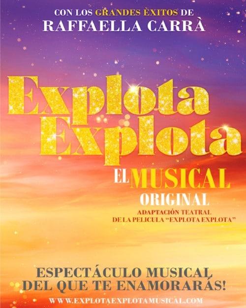 Anuncio Explota explota El musical
