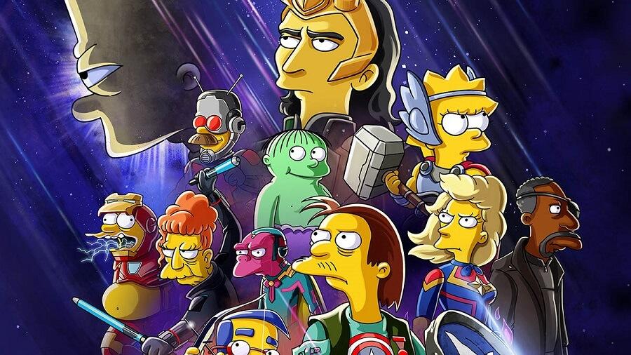 Los Simpson La buena, el malo y Loki