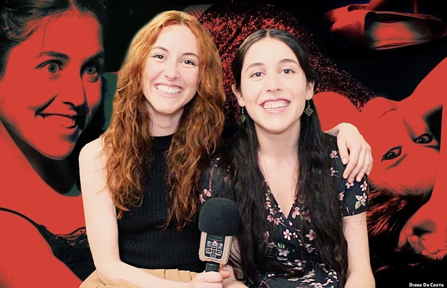 Noah Ferrera y Ángela Peirat