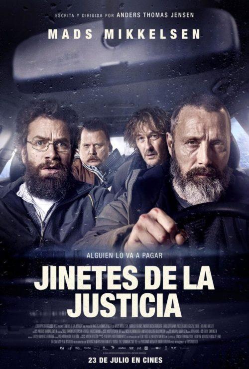 jinetes de la justicia poster
