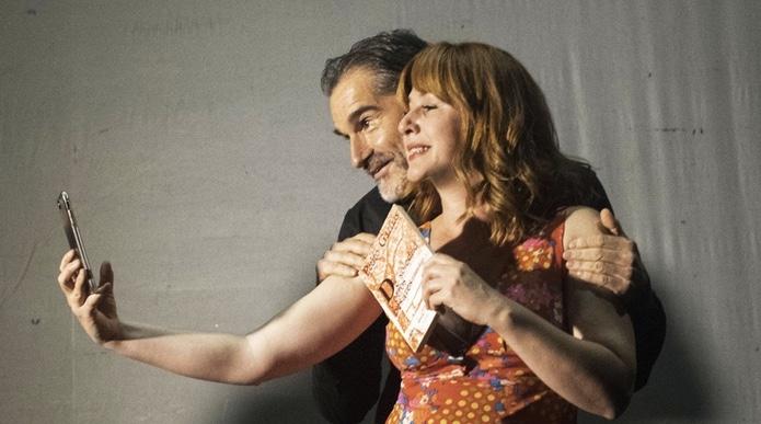Anfitriones en el Teatro Quique San Francisco
