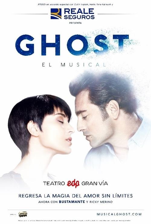 David Bustamante en GHOST, el musical