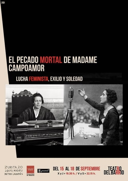 Estreno El pecado mortal de Madame Campoamor