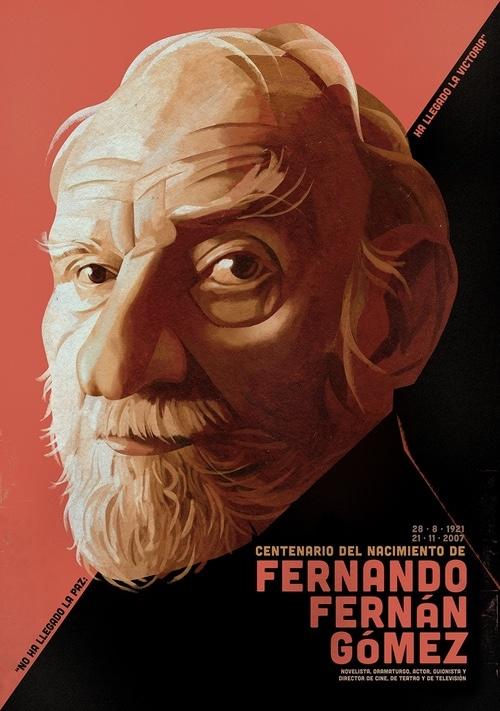 Homenaje a Fernando Fernán Gómez por el Teatro Fernán Gómez